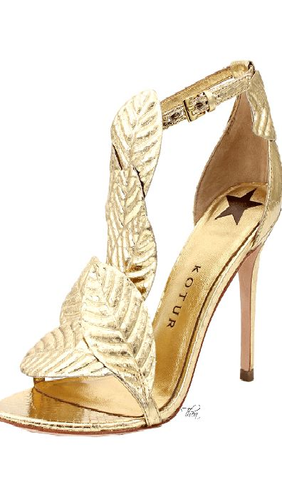 KOTUR                                                                                                                                   Gilda Sandal                                                                                                                 ❦~HeadOverHeels~❦ Feet can give you wings ...