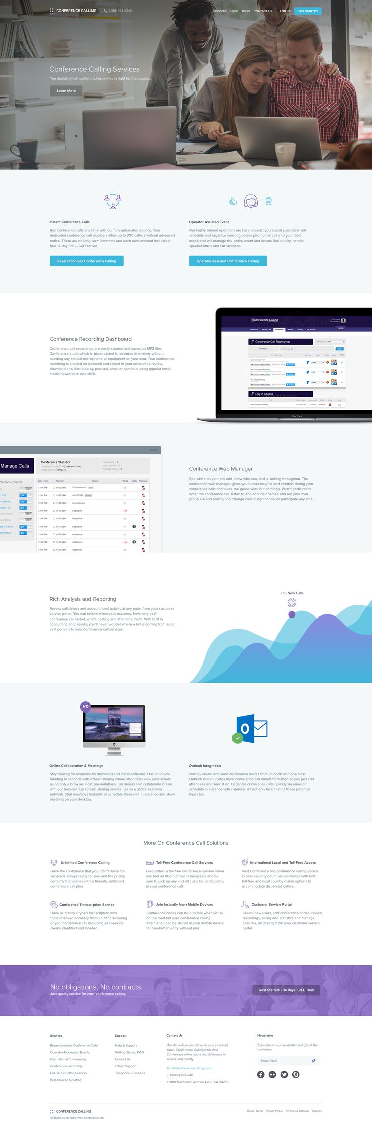 Conference Calling - Services Page by Balkan Brothers