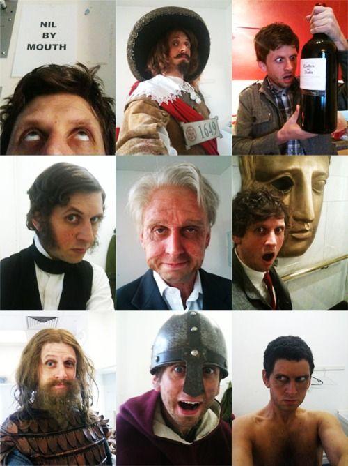 just a few of Larry's selfies :)