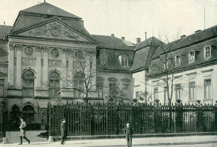 1895 reichskanzlerpalais - Grüße aus Berlin und Umgebung , Berlin-Schöneberg 1898  Berlin , Wilhelmstraße 77