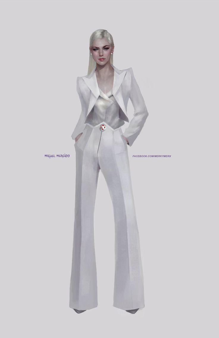 Emma Frost - Miguel Mercado
