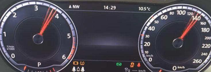 Im Steuergerät 17 (Schalttafel) gibt es beim VW Passat B8 die Möglichkeit, die Zeigerinszenierung zu aktivieren.  Vorgehensweise:   Steuergerät 17 (Schalttafel)  Lange Codierung (Funktion 07)  Byte 1  Bit 0 aktivieren   #vw passat b8 #zeigertest