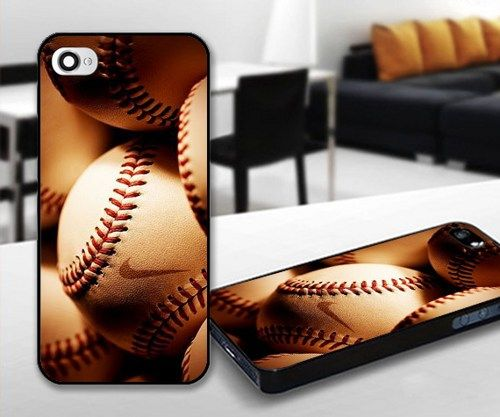 BaseBall Nike for iPhone 5 Black case | iPhoneCustomCase - Accessories on ArtFire