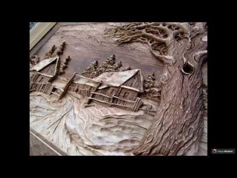 85+ Идей резьбы по дереву: Экологическое искусство