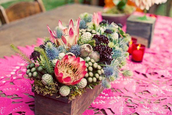unique #succulent arrangement