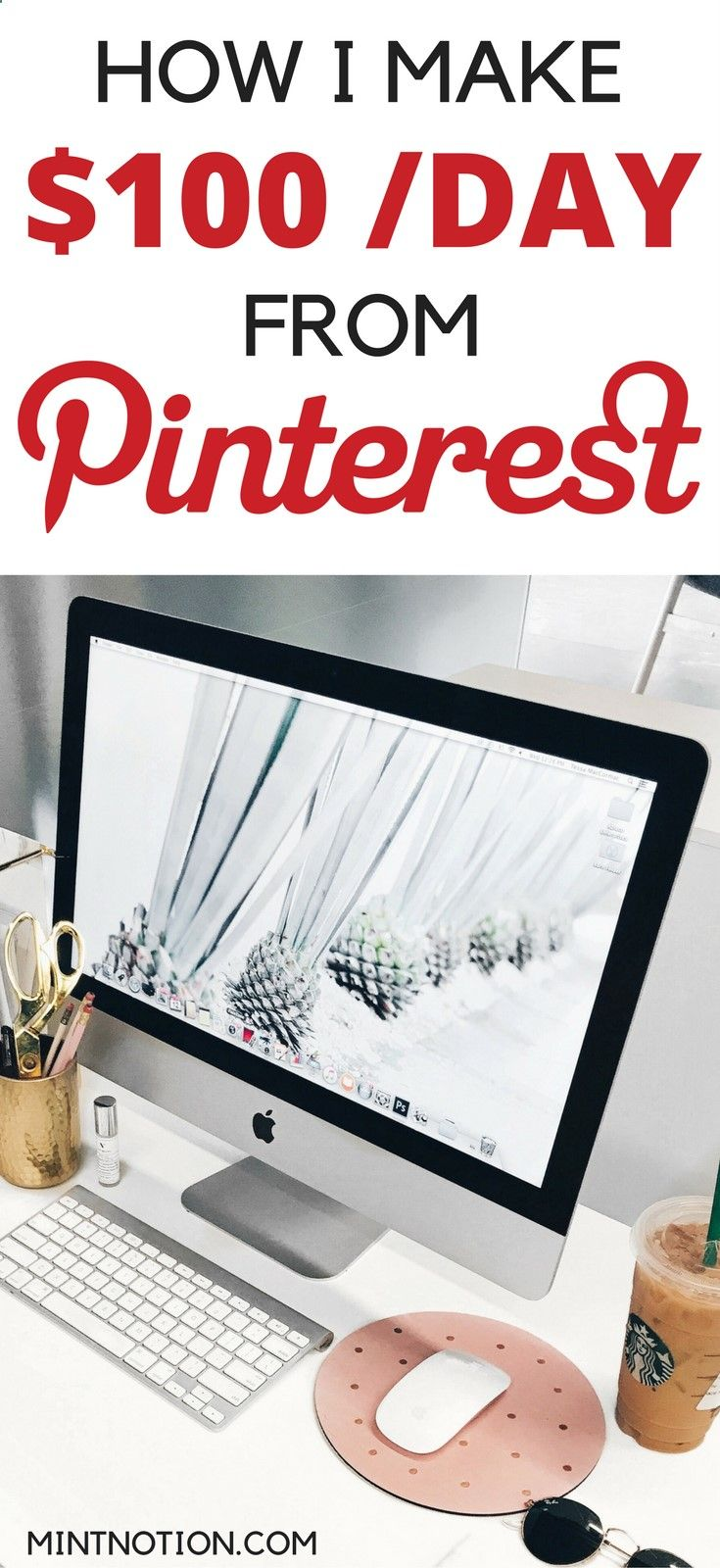 Earn Money From Home How to make MONEY with Pinterest. Earn a living from Pinterest. Make extra income from home. Side hustle ideas. You may have signed up to take paid surveys in the past and didn't make any money because you didn't know the correct way to get started!