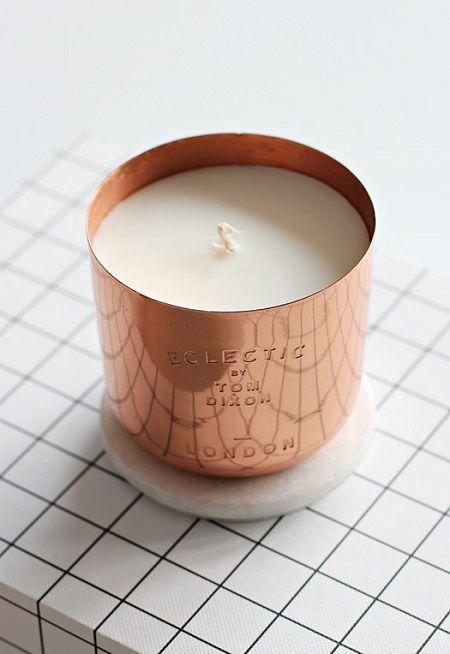 vela cobre Tom Dixon #copper