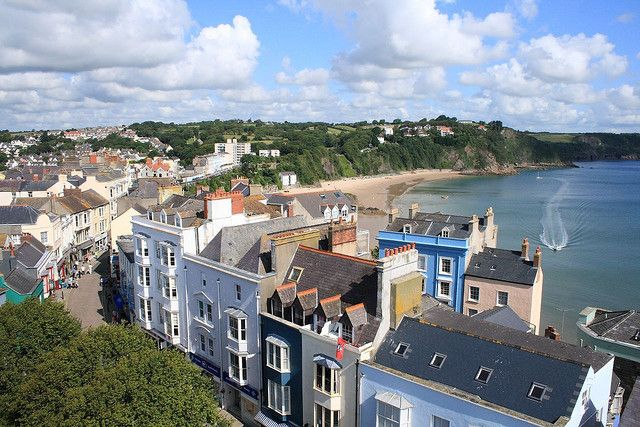 Tenby from St. Mary's Church Tower