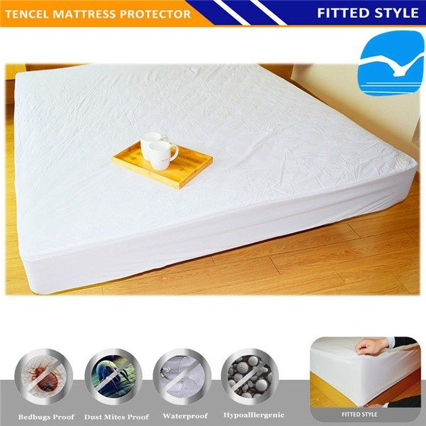 Premium Hypoallergenic Waterproof Quilted Crib Toddler Bed Mattress Pad Cover In Malahide
