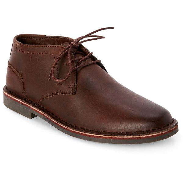 Kenneth Cole Reaction Brown Desert Wind Chukka Boots (1.025 ARS) ❤ liked on Polyvore featuring men's fashion, men's shoes, men's boots, brown, mens brown boots, kenneth cole reaction mens boots, mens lace up shoes, mens brown chukka boots and mens chukka boots