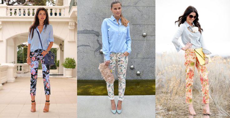 Три вопроса о брюках в цветочек