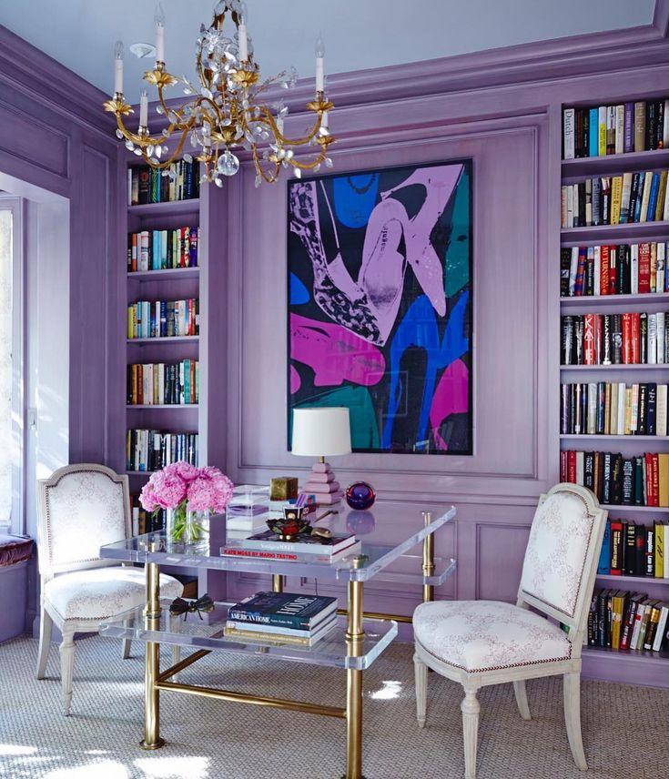 20 Summer House Design Ideas: Home Office Design, Retro Home Decor