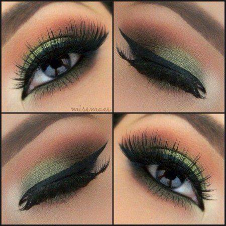 Beautiful Green Eye Makeup