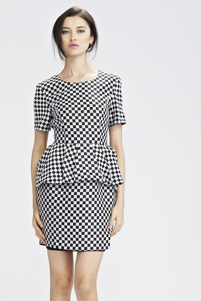Trelise Cooper Boardroom Square Ribs Dress on sale $214.50