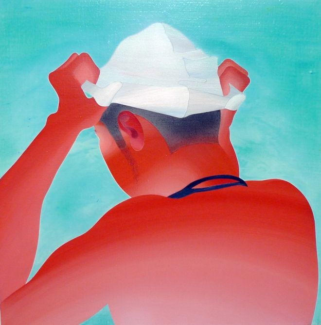 Take a refreshing dip into these inviting paintings of swimming pools   Creative Boom
