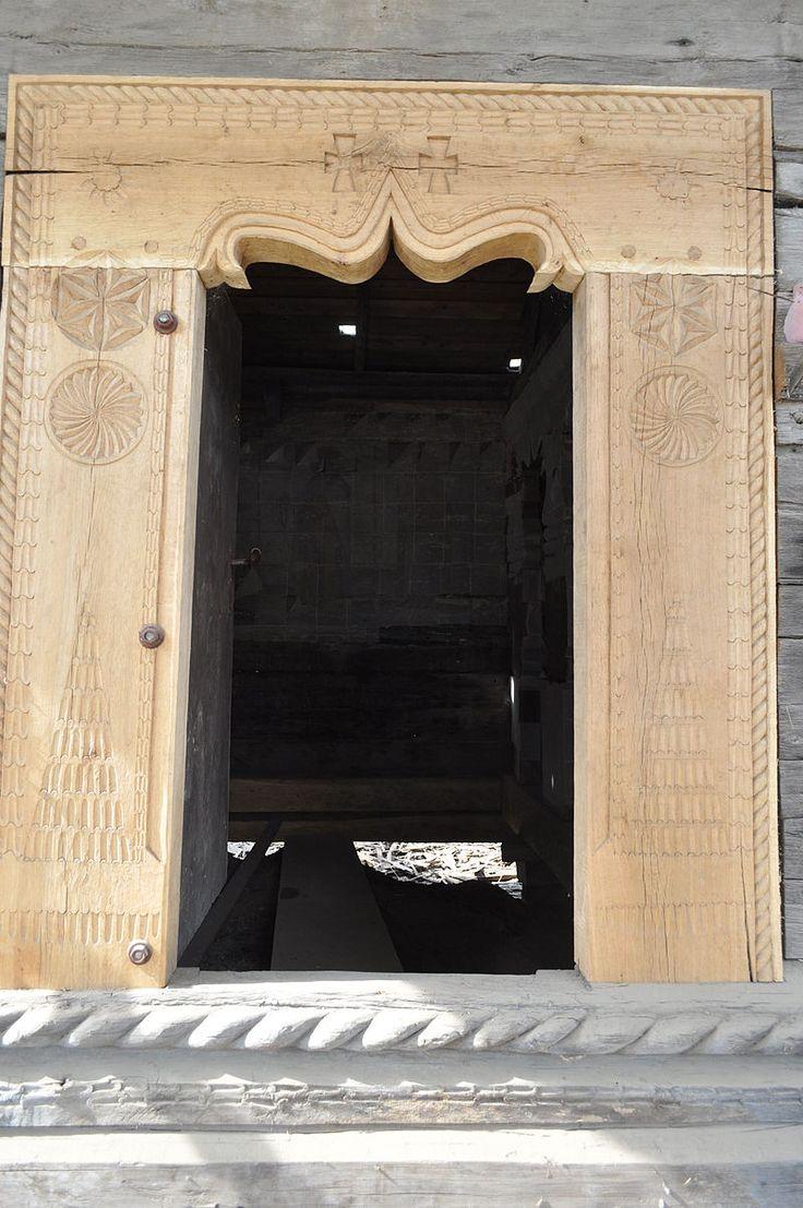 RO VN Ruginesti 13 - Biserica de lemn din Ruginești - Wikipedia