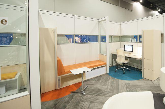 SSDG Interiors Inc.   retail: Teknion Booth Buildex Vancouver