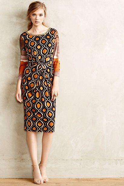 Beitiris Midi Dress #anthropologie #anthrofave