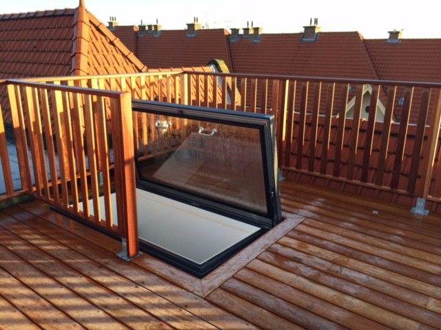 Glazing Vision Europe (Product) - Dakluik glas voor dakterras met Sky Only View - architectenweb.nl