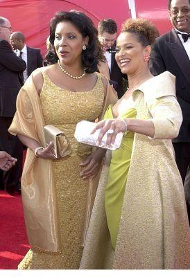 Alpha Kappa Alpha Sorority, Inc. Soror Phylicia Rashad with her sister Debbie Allen