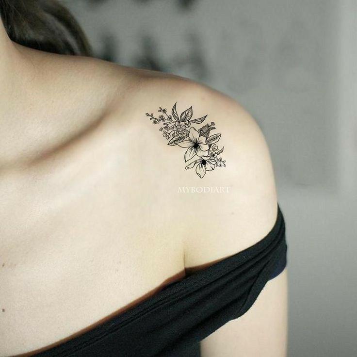 12 Tatuajes para el hombro de mujer