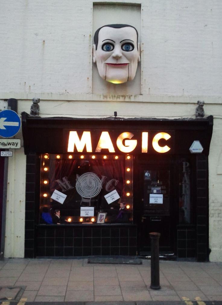 Magic shop Brighton UK