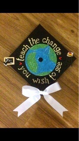 Inspire. Create. Enjoy: Graduation! Teacher Grad Cap!  Graduation Cap!
