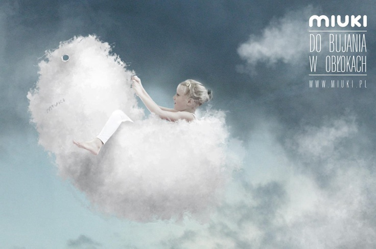 swinging in the clouds / www.miuki.pl