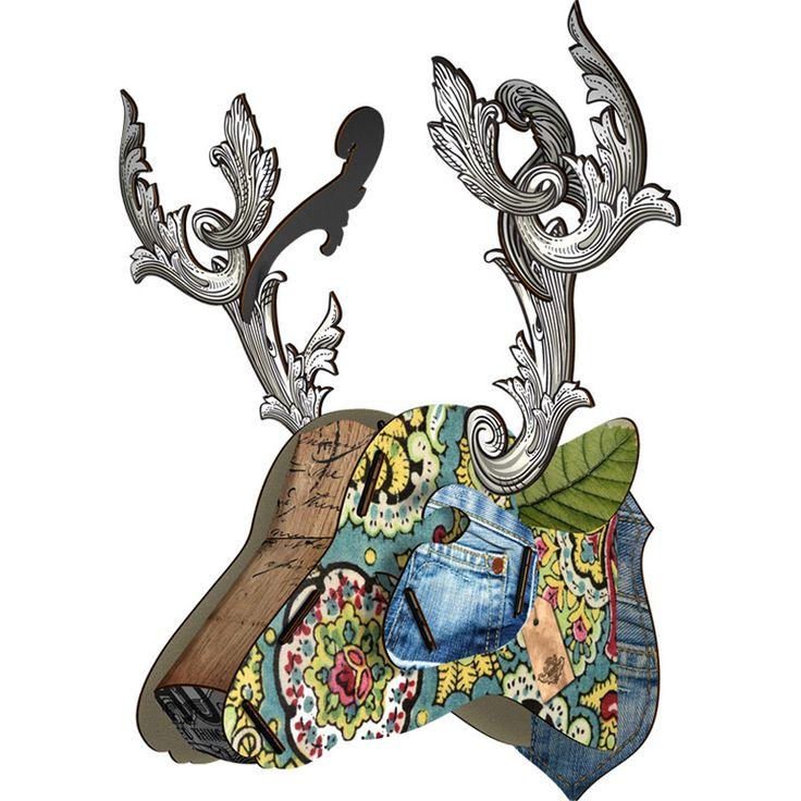 Les 67 meilleures images du tableau miho sur pinterest - Trophee animaux design ...