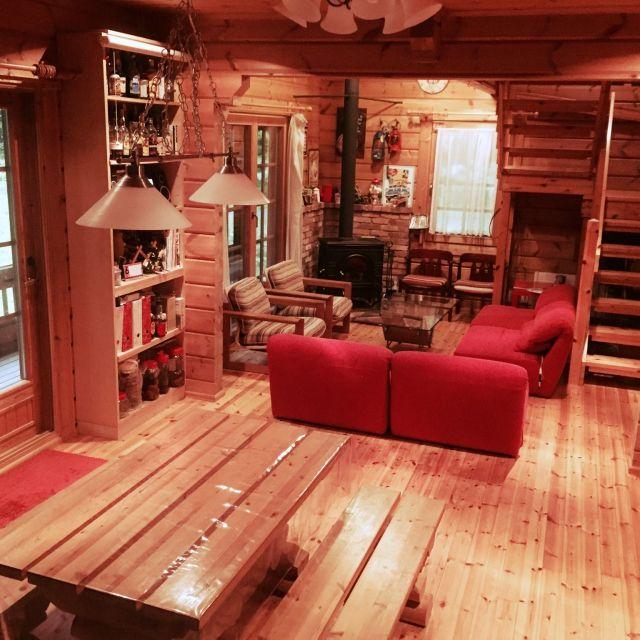 htsbaseさんの、アメリカン,ログハウス,Overview,のお部屋写真