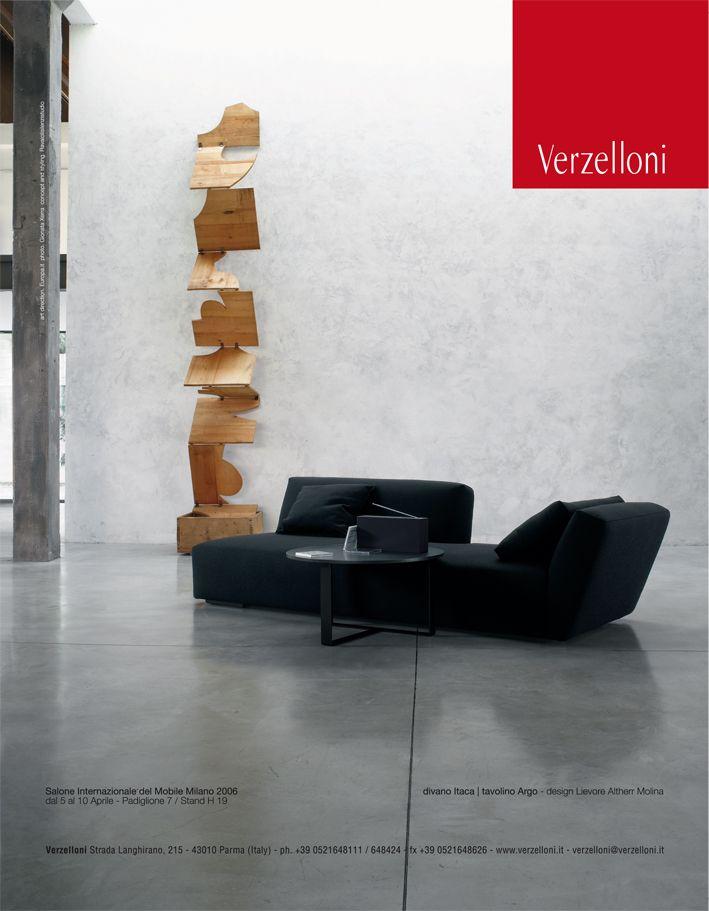 Itaca. Verzelloni on Panorama, G.D.A., Interni, Brava Casa, Grazia Casa, D Casa, D Repubblica, Elle Decor Italia, Elle Decoration, Elle Wonen, Ideal Heim