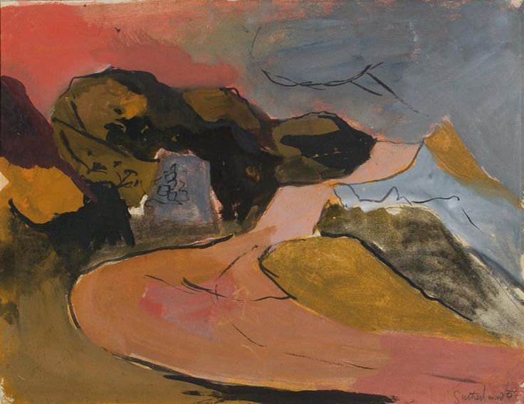 Graham Sutherland, Welsh Landscape, 1936
