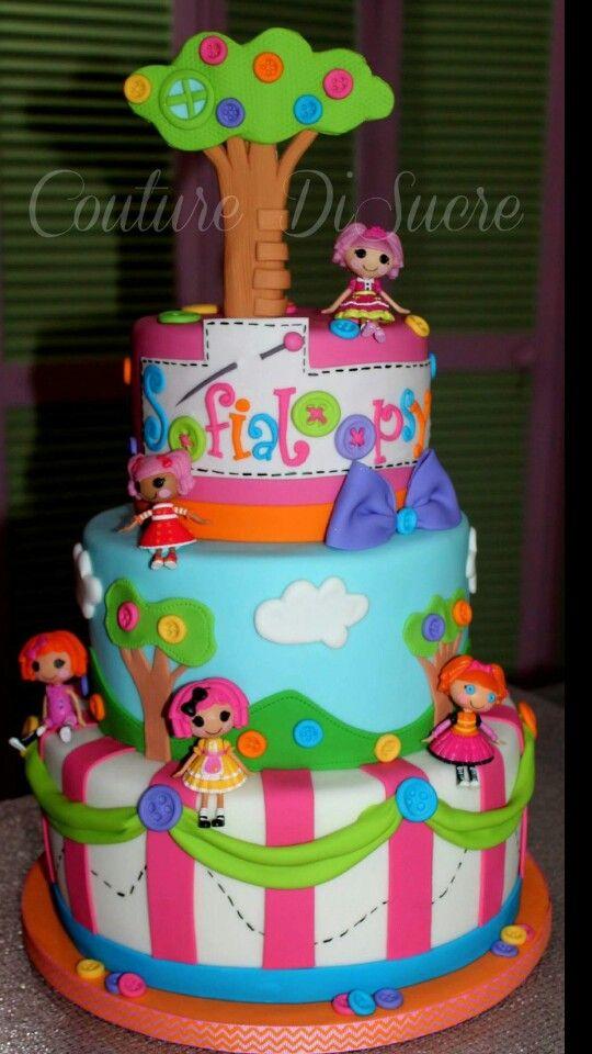Lalaloopsy cake                                                                                                                                                                                 More