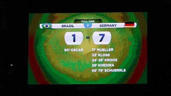 Gastgeber Brasilien wurde im Halbfinale von Deutschland mit einem sagenhaften 7:1 abgefertigt.