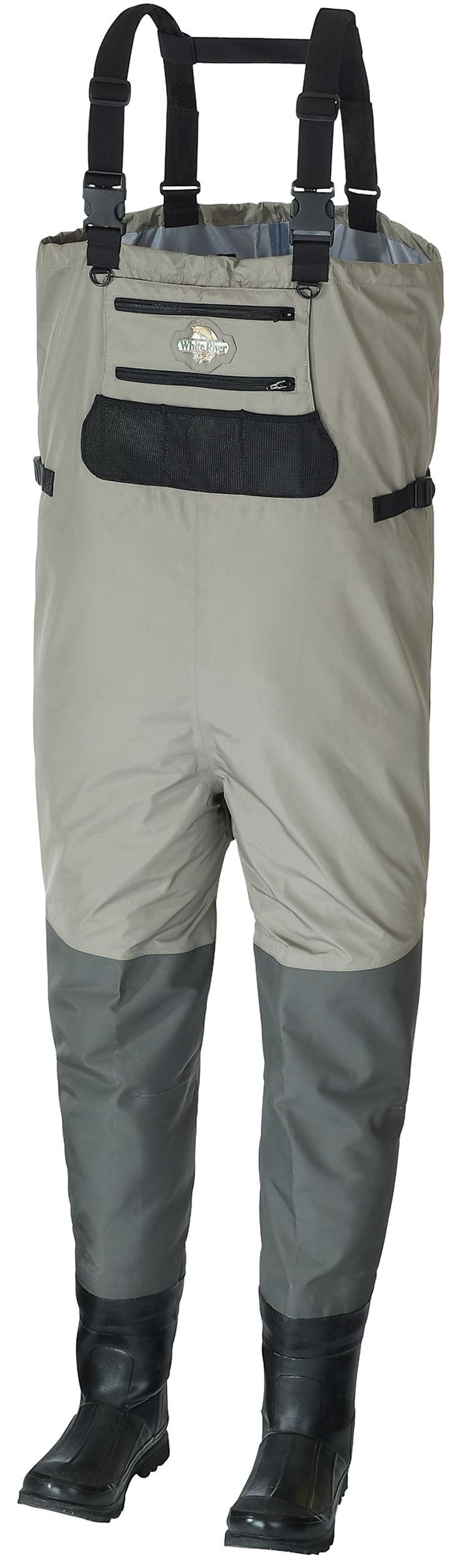 White river fly shop eco clear breathable waders for men for Fly fishing waders