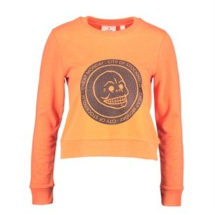 Cheap Monday Win sweater, Orange, medium