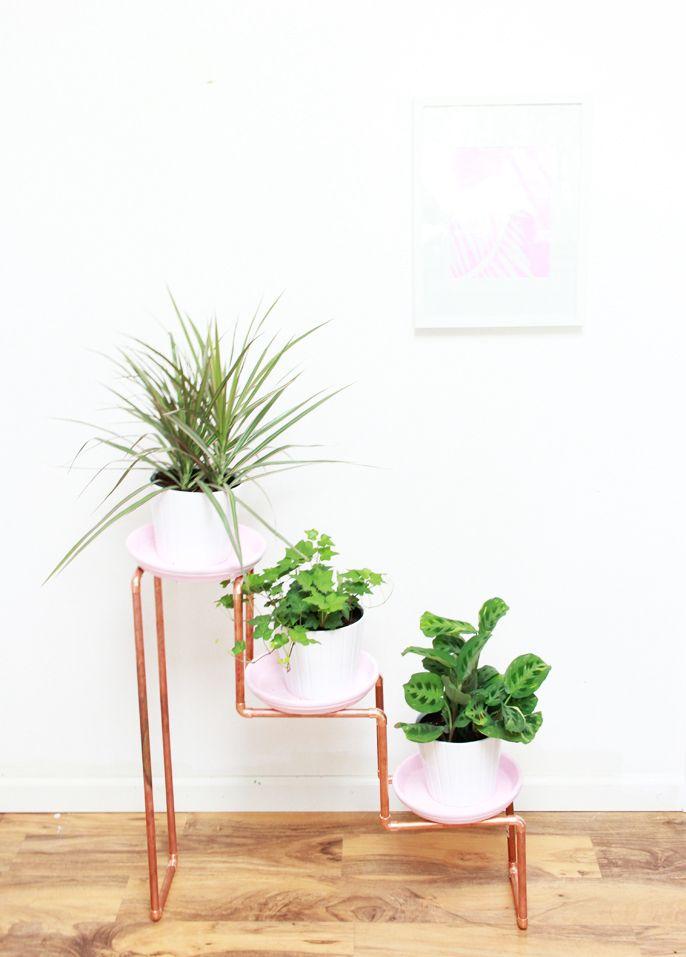 DIY 3 Tiered Copper Planter