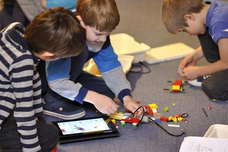 Piątkowe zajęcia fakultatywne z robotyki #robotyka#zajecia fakultatywne#montessori#harmonia