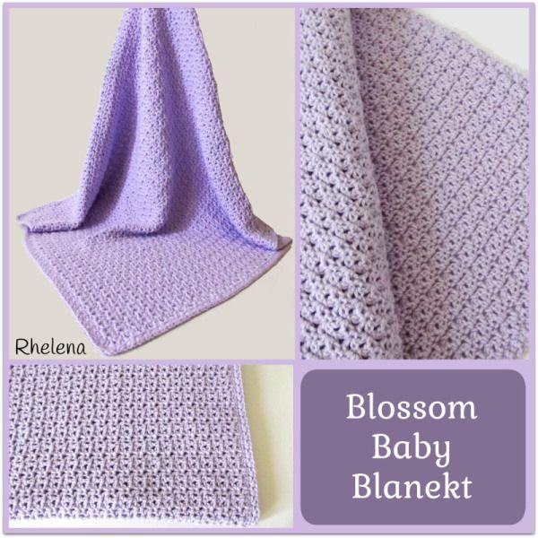 Blossom Baby Blanket ~ FREE Crochet Pattern