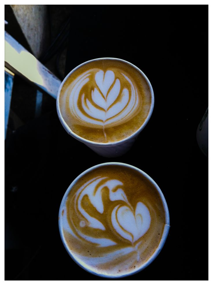 Latte art at the House and Leisure Market. #johannesburg www.tribecoffee.co.za