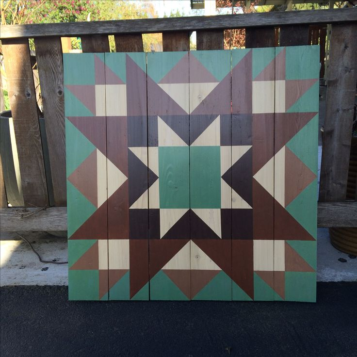 Star barn quilt                                                                                                                                                                                 More