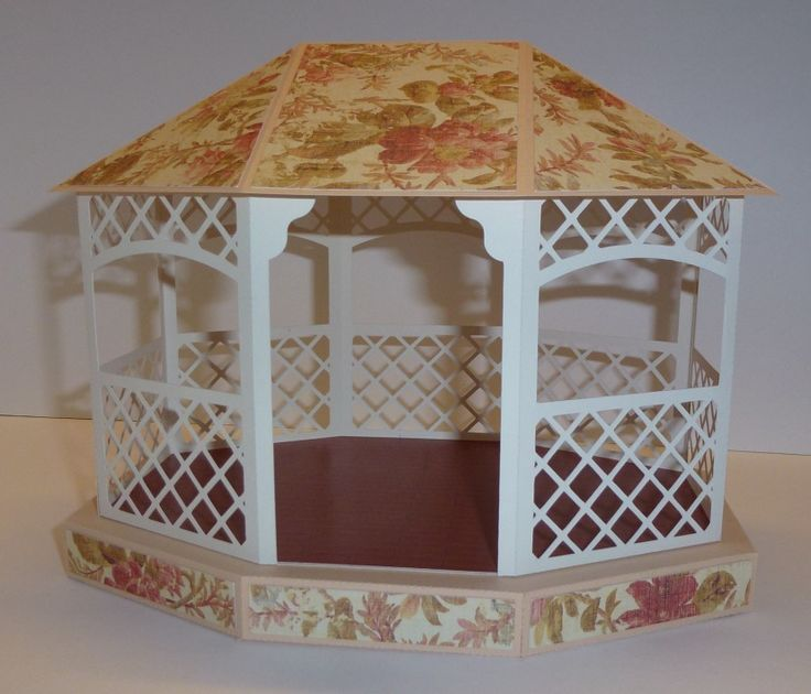 Gazebo 4 Monica 39 S Creative Room Cards Papercrafts