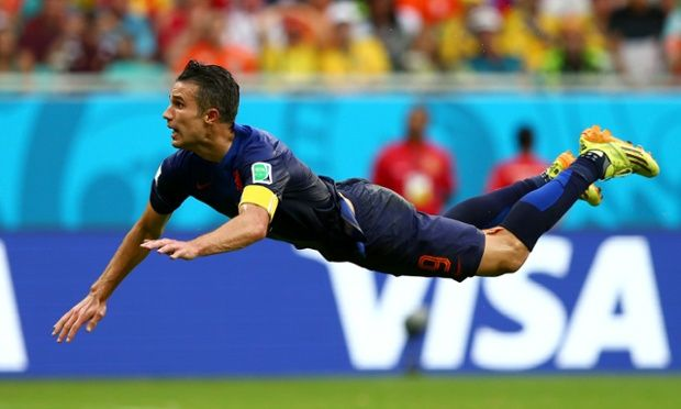 Flying Dutchman - van Persie (2014 World Cup, vs Spain)