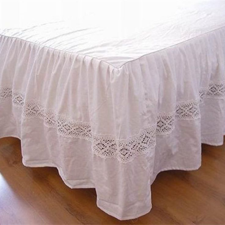 Hot fashion European bed skirt hollow out embroidery bedspread handmade bed sheet for wedding decoration bed cover home textile