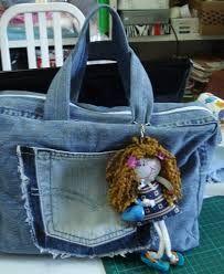 Resultado de imagem para reciclagem de jeans usado