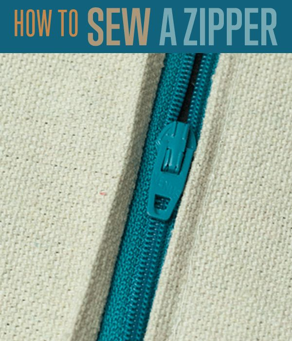 Zippers can be tricky! Want to learn how to sew a zipper in a few simple steps? Check out our step by step instructions on easy sewing projects and more!