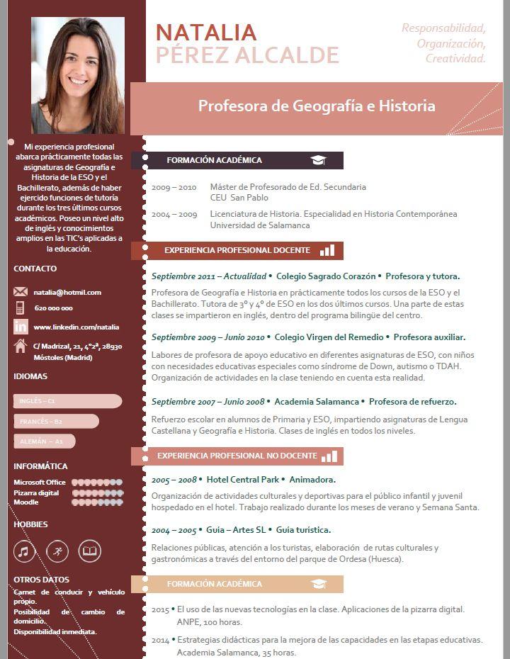 resultado de imagen para imagenes de curriculum vitae de un administrador
