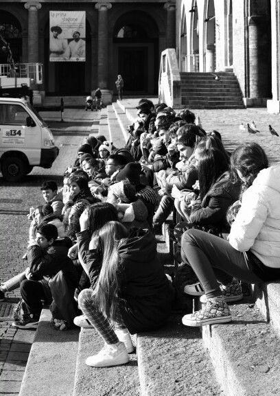 Piazza Cavour in Rimini, Emilia-Romagna