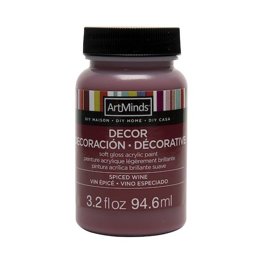 Diy Home Décor Acrylic Paint By Artminds®, 3.2 oz in Spiced Wine | Michaels®