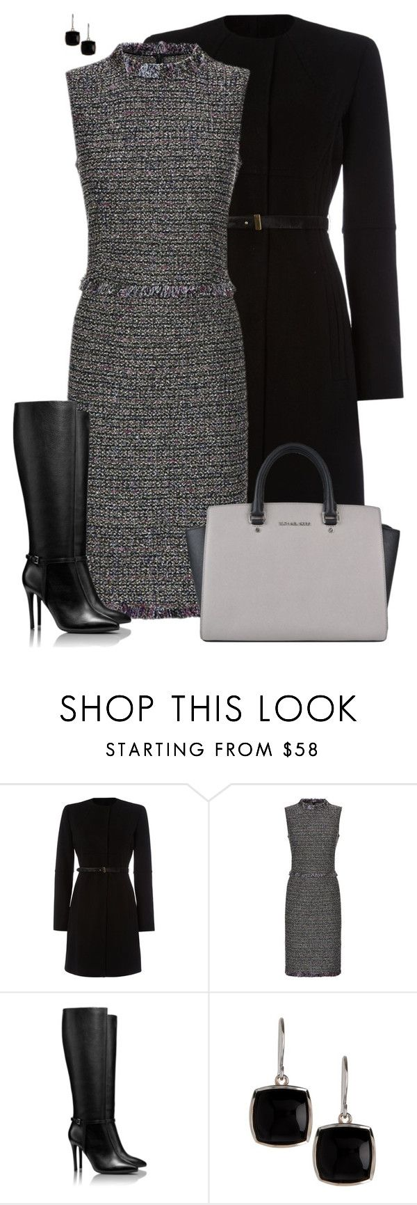 """""""Ready for Work!"""" by rleveryday ❤ liked on Polyvore featuring Marella, St. John, Tory Burch, Argento Vivo, MICHAEL Michael Kors, workoutfit, officeOutfit, professionaloutfit and Businessoutfit"""